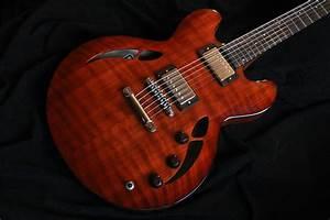 Russell Guitars - Portland Custom Semi-Hollow Body ...
