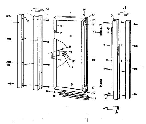 shower door parts shower doors parts magnetic for shower doors