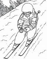 Ski Skiing Coloring Draw Drawing Lift Doo Sheet Jet Sketch Getdrawings Printable Getcolorings Template sketch template