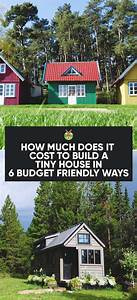 Tiny house 20 pinterest for How much does it cost to build a dog house