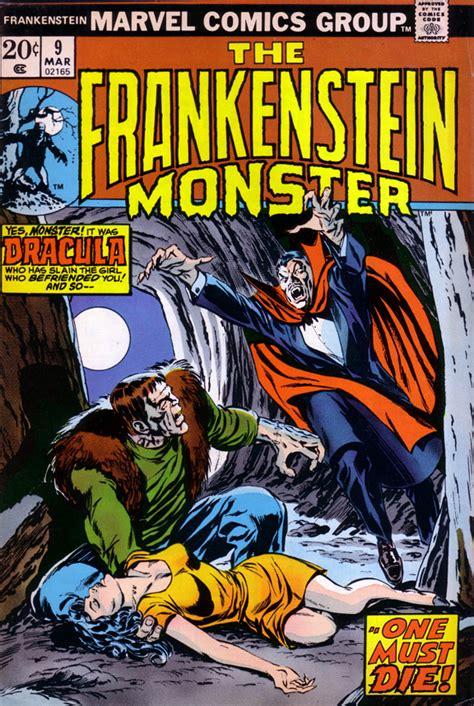 Comic Coverage: The Highlight Reel: Frankenstein vs. Dracula!