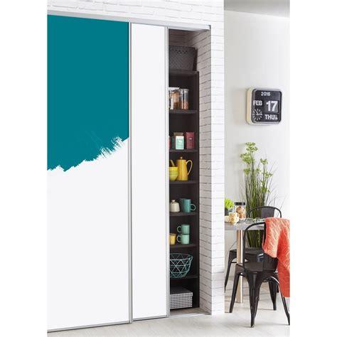 pose carrelage mural cuisine porte de placard coulissante a peindre ou à tapisser