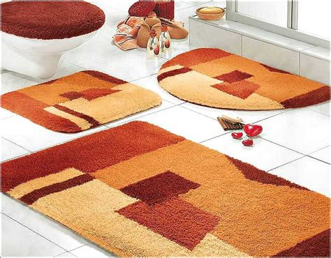 bathroom rug set bathroom rug sets for comfort bathroom the new way home