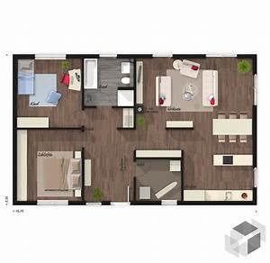 Dänische Fertighäuser Bungalow : massivhaus bungalow 100 von town country haus ~ Watch28wear.com Haus und Dekorationen