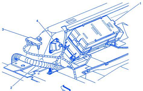 Buick Lesabre Left Rear Seat Electrical Circuit