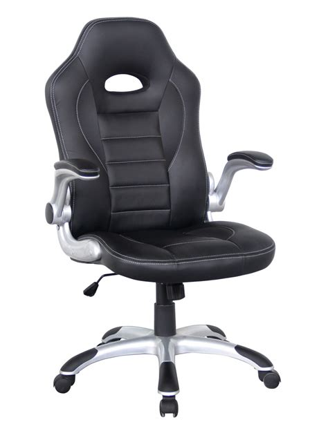 talladega racing style office chair aoc8211blk 121