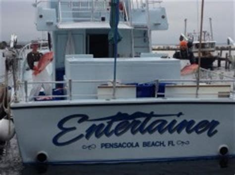 Charter Boat Entertainer by Orange Fishing Charters With Salty S Saltwater