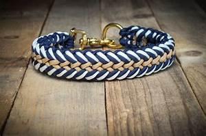 Hunde Sachen Kaufen : hund halsb nder robustes paracord hundehalsband ein designerst ck von hanseschnute bei ~ Watch28wear.com Haus und Dekorationen