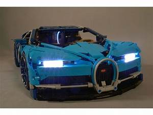Lego Bugatti Chiron Lighting Kit Installation Instructions