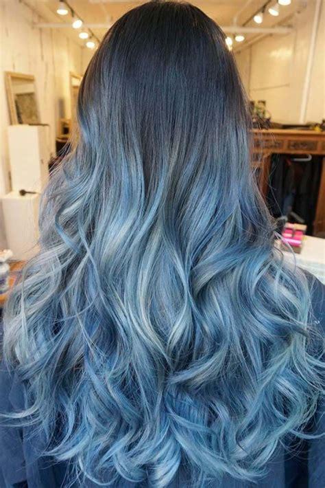 Best 25 Blue Ombre Hair Ideas On Pinterest Ombre Hair