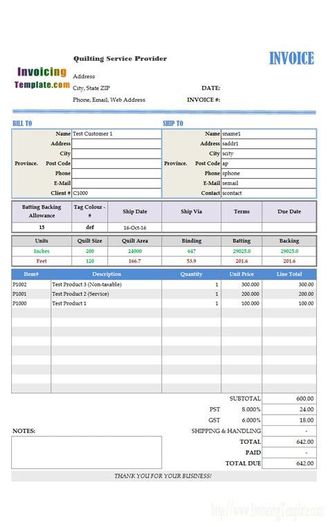 billing software excel