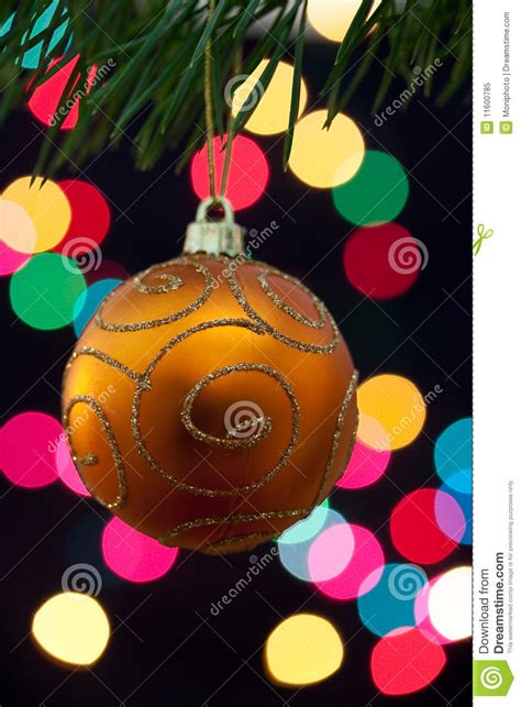 big christmas baubles and candles on dark royalty free