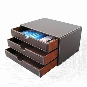 ever perfect 3 layer 3 drawer file storage box organizer With home document storage