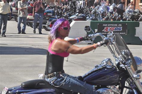 Women Bikers At Sturgis 2011