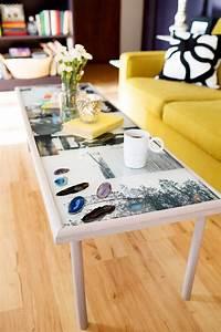diy epoxy resin coffee table a beautiful mess With epoxy resin coffee table