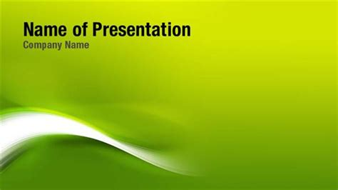 green shades powerpoint templates green shades
