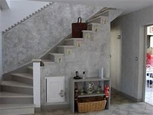 Murs D Autrefois : un mur effet beton la renovation de meubles sans le decapage ~ Premium-room.com Idées de Décoration