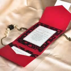 pocket wedding invitation kits 6 fall wedding colors ideas and wedding invitations