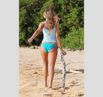 Indiana Evans In A Bikini Filming The Blue Lagoon In Maui Fabzz