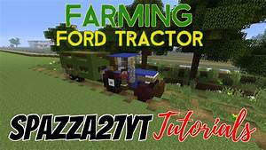 Ford Tractor Minecraft Tutorial