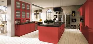 Appetitanregend rote kuchen bei mobel kraft mobel kraft for Rote küchen