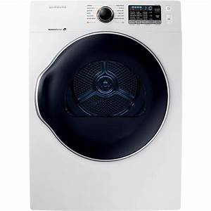 Samsung 24 In  4 0 Cu  Ft  Electric Vented Dryer In White-dv22k6800ew