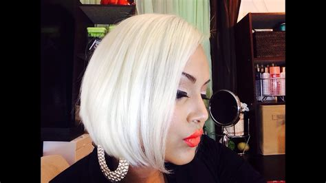 platinum blonde hair youtube