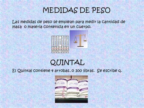 Medidas Mas Utilizadas En Guatemala