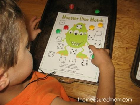 Monster Math Games & Activities  With Loads Of Free Printables For Preschool, Kindergarten, And