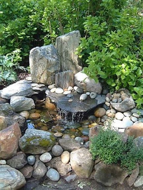 garden fountains and waterfalls 75 relaxing garden and backyard waterfalls digsdigs