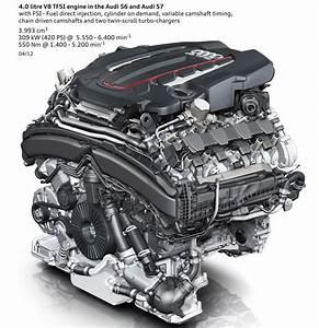 Audi S6  S7 4 0l V8 Tfsi Engine