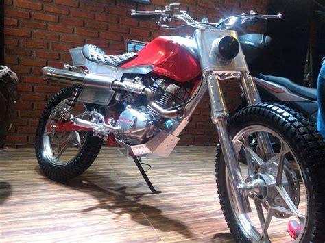 Modifikasi Honda Cb150 by Modifikasi Honda Cb150 Verza Ala Cafe Racer Ini Keren