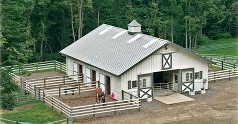 The Feed Barn by Need 6 Stalls Tack Room W Bathroom Feed Room Wash