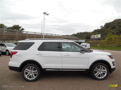 2016 Ford Explorer Xlt 4wd by 2016 Oxford White Ford Explorer Xlt 4wd 107603123