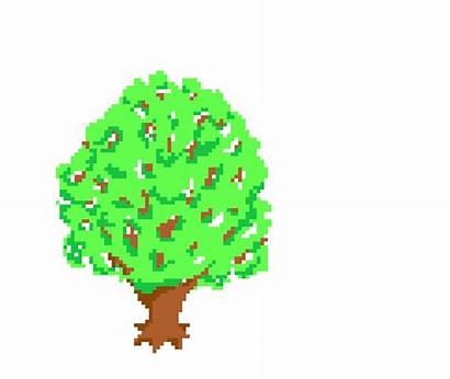 Tree Clipart Animation Falling Transparent Opengameart