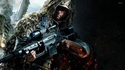 Sniper Warrior Ghost Games