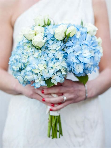 ideas  blue wedding flowers  pinterest