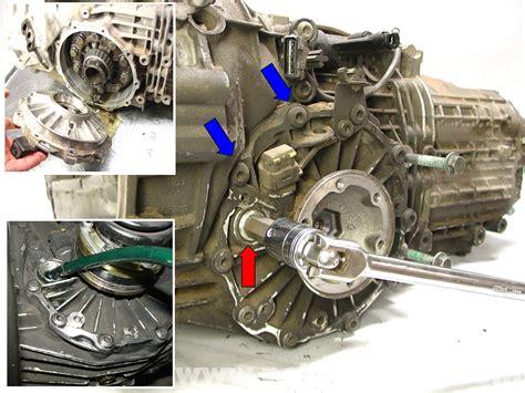 porsche  carrera manual transmission fluid replacement