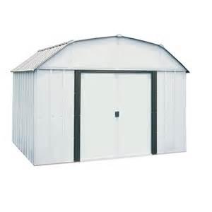 shop arrow common 10 ft x 8 ft interior dimensions 9 8500 ft x 7 5000 ft galvanized steel