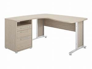 meuble bureau conforama bureau d angle verre noir With meuble bureau informatique conforama