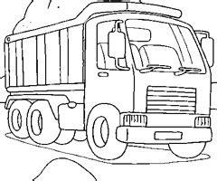 coloriage de camion benne imprimer coloriage camion benne