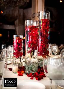Stunning red orchid centerpieces Mixed Bouquet Pinterest