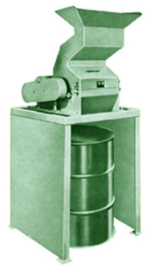 plastic shredders model  compactors