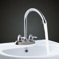 2 Handlehole High Spout Kitchen Bathroom Faucet Sink