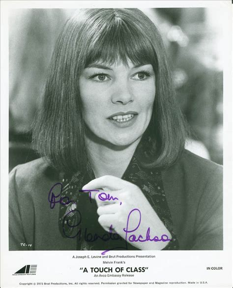 Glenda Jackson - Autographed Inscribed Photograph ...