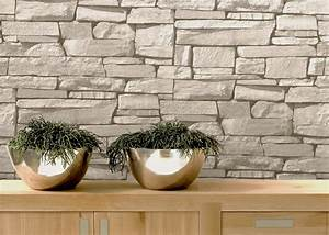 Tapeten Muster Wände : tapeten stein muster alles ber wohndesign und m belideen ~ Markanthonyermac.com Haus und Dekorationen