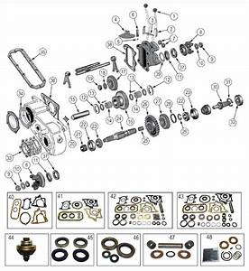 Diagrams For Jeep    Transfer Parts    Dana 18 Transfer