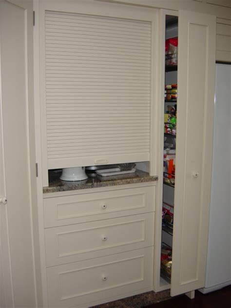 Appliance Cupboards by 4 Appliance Cupboard Pullout Pantry Wooden Earth