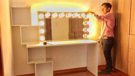 how to make a vanity mirror diy vanity mirror 150 in one day
