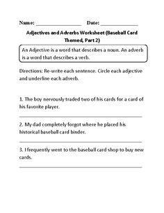 englishlinxcom adjectives worksheets  images